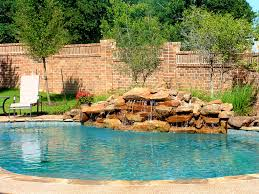 interior heavenly pools waterfalls light for pool waterfall
