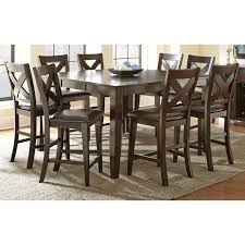solid wood counter height table sets the beautiful copley counter height dining set will bring warmth and