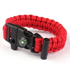 survival bracelet whistle images Malloom rope paracord survival bracelet flint fire starter jpg