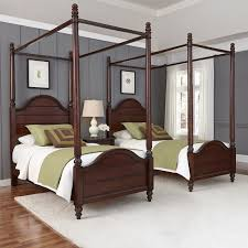 Canopy Bedroom Sets Home Styles Country Comfort Canopy Bed Hayneedle