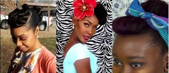 natural pin up hairstyles for black women epic fashion post pin up fashion featuring angelique noire