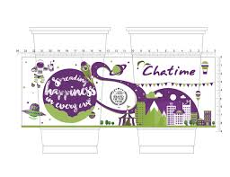 chatime international 2016 cup design competition on pantone