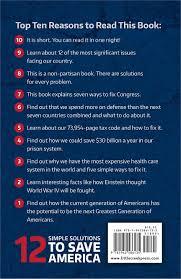12 simple solutions to save america john burke 9781942586135