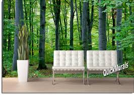 forest wall mural moncler factory outlets com woodland forest peel amp stick canvas wall mural
