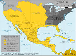 map usa in 1800 new spain in 1800 america land of maps http landofmaps