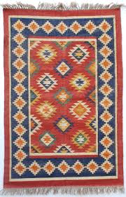 Blue And Red Striped Rug Floor Pink Dhurrie Rug Blue Dhurrie Rug Dhurrie Rugs