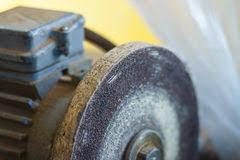 Old Bench Grinder Grinder Old Workshop Stock Photos Sign Up For Free