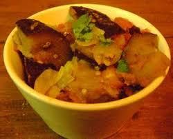 cuisiner indien baigan bharta aubergines épicées à l indienne la cuisine en pyjama