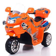 toddler motorized car kids electric motorcycle power wheels bike 3 wheel battery powered