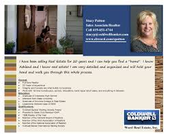 stacy patton with coldwell banker ward real estate
