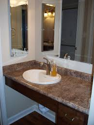 Handicap Accessible Kitchen Cabinets Example Of A Wheelchair Accessible Vanity Note The Lever Handle