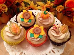 thanksgiving cup cakes home