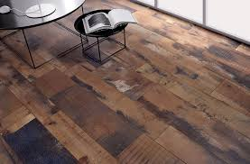 vintage look in wood grain floor tile novalinea bagni interior