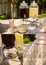 Backyard Gold Backyard Bridal Shower In Peach And Gold
