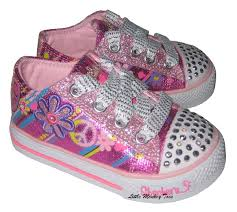 skechers womens light up shoes skechers twinkle toes light up shuffles groovy baby pink