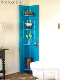 Building A Bookshelf Door Corner Door Shelf