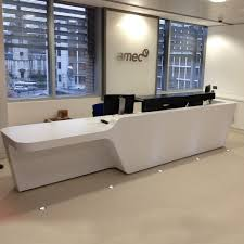 Reception Desk Size by Make Your Reception Area Welcoming With These Desks Apres