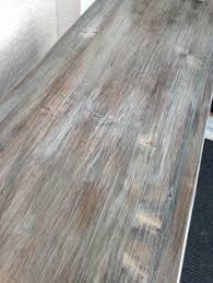 how to create a weathered wood gray finish grey wash desks and