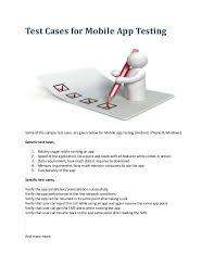 Mobile Application Testing Resume Sample by Mobile App Testing Guide