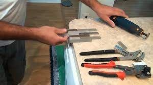 the easiest way to cut glass stainless backsplash youtube