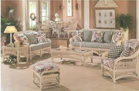 Living Room Wicker Furniture Wicker Living Room Furniture Discoverskylark