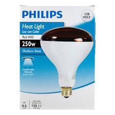 philips 415836 heat lamp 250 watt r40 flood light bulb led