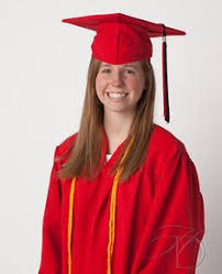 personalized with graduation gown and cap homeschool