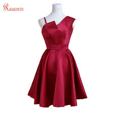 online buy wholesale dark red cocktail dress from china dark red