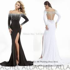 online get cheap gala dresses white and black aliexpress com