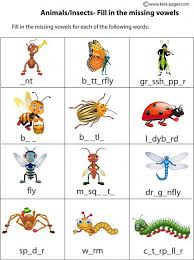 all worksheets insect worksheets printable worksheets guide