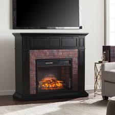 Infrared Electric Fireplace Fox Run Maldonado Convertible Electric Fireplace U0026 Reviews Birch