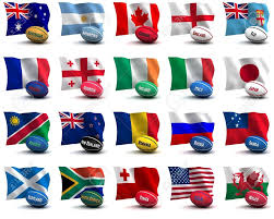International Bunting Flags Rugby World Cup Fabric Flags Bunting Wales Italy France Ireland