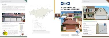 Garage Dimensions Leaflet Doorhan Garage Sectional Doors Rsd01 Doorhan Pdf