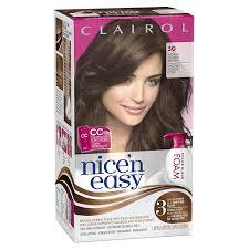 nice n easy hair color chart amazon com clairol nice n easy foam hair color 5g medium golden