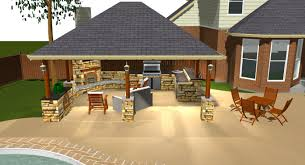 Outdoor Kitchen Roof Ideas by Backyard Covered Patio Ideas Patio Ideas And Patio Design