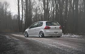 volkswagen rabbit stance volkswagen golf gti stance golf tuning winter hd wallpaper