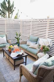 here u0027s a budget patio makeover that u0027s renter friendly