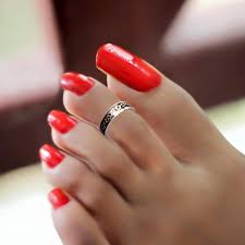 25 red toe nail art designs ideas design trends premium psd