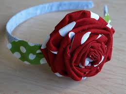 fabric headbands fabric flower headbands some bliss for sale less than