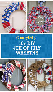 11 easy diy 4th of july wreaths how to make a fourth of july wreath