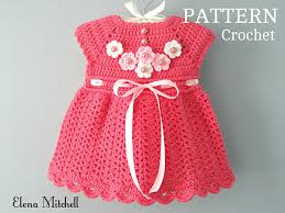pattern dress baby girl crochet pattern baby dress baby girl pattern crochet newborn