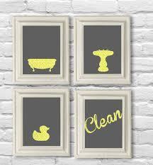 Gray Yellow Bathroom - best 25 yellow gray bathrooms ideas on pinterest yellow bath