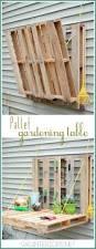 Pallet Furniture Outdoor Bar Diy Garden Planters And Diy Garden Art Pallets Gardens And Burgers