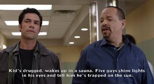 Law And Order Meme - 10 times ice t blew the minds of the other law order detectives