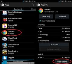 android how to clear cache how to clear or wipe the app cache and system cache on your