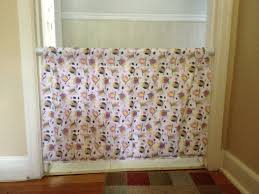 Diy Nursery Curtains Diy Baby Gate With Tension Shower Curtain Rods Things I