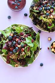 blueberry quinoa salad minimalist baker recipes