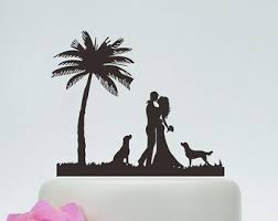 cake topper with dog dog wedding cake topper etsy
