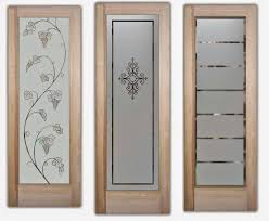 Frosted Glass For Kitchen Cabinets Etched Glass Nyc