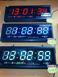 lighted digital wall clock wall clocks large lighted digital wall clock lighted digital wall
